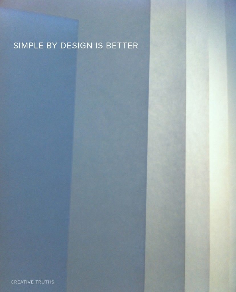 Creative Truth: Simple by Design